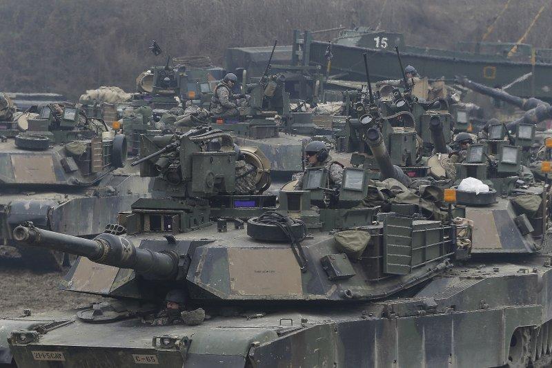 2017年韓美聯合軍事演習(AP)