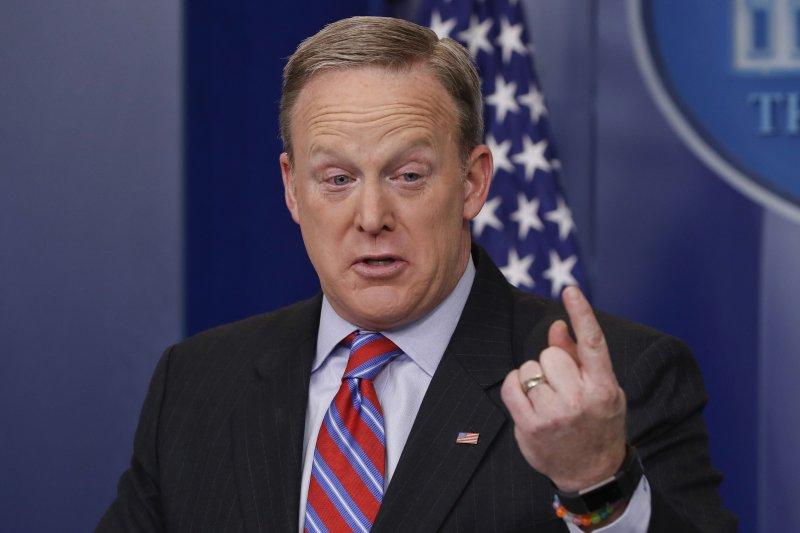 白宮發言人史派瑟(Sean Spicer)(AP)