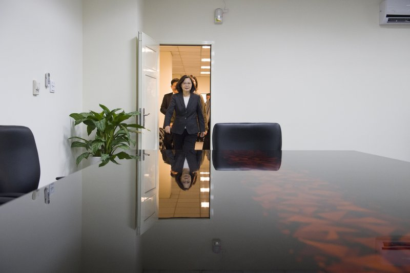 蔡英文總統出席中部辦公室啟用茶會(總統府)