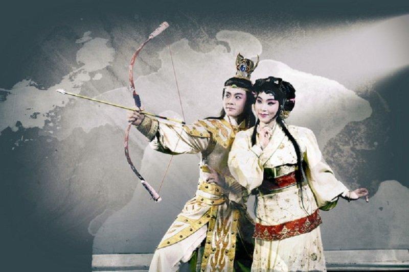 台灣京崑劇團(前身即復興劇校)為台灣戲曲學院六十年慶籌備的大戲《齊大非偶》─ 失控的春秋。(來源:台灣京崑劇團)