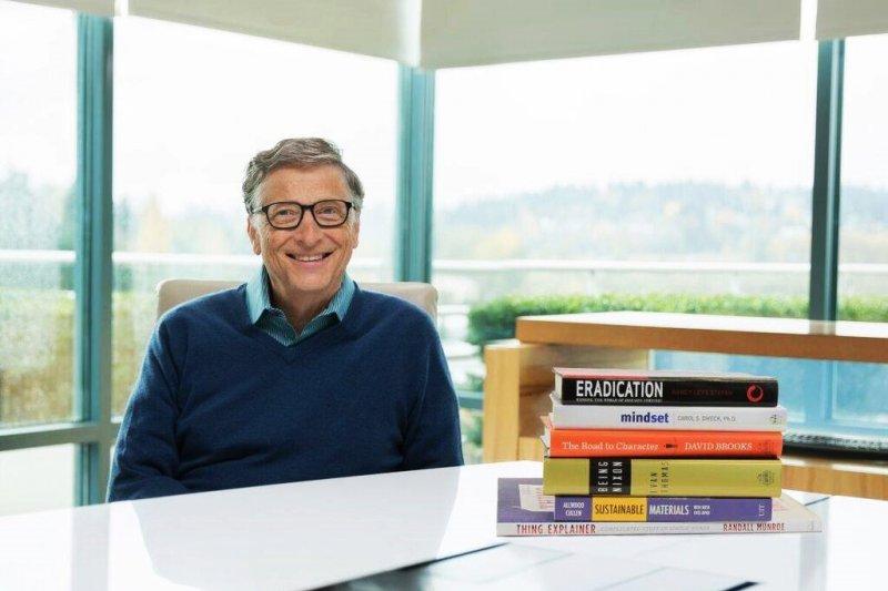 微軟的創始人比爾蓋茲之所以能成為世界首富,就是源於他的自律。(圖/Bill Gates@Facebook)