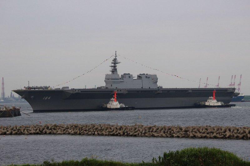 加賀號護衛艦。(Yamada Taro@Wikipedia/CC BY-SA 4.0)