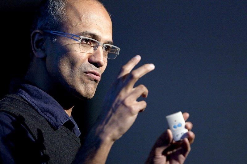 微軟現任執行長Satya Nadella這樣帶領公司轉型!(圖/Johannes Marliem@flickr)