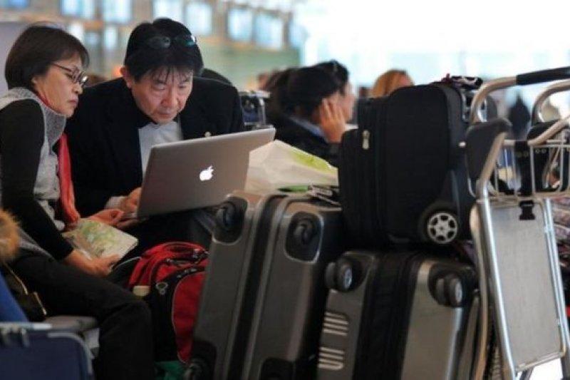 英國禁令的實施時間由航空公司決定。(BBC中文網)