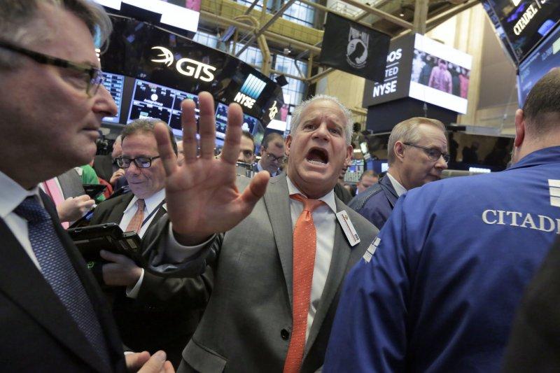 美國股市。(美聯社)