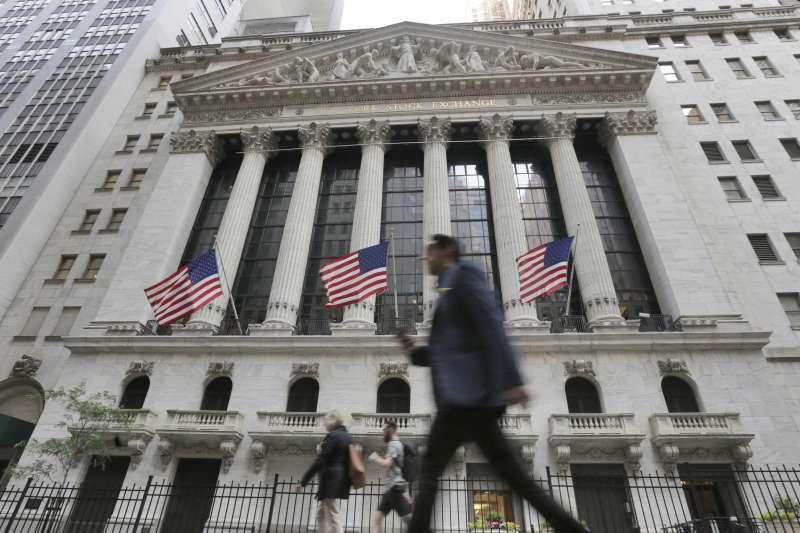 美國股市,華爾街。(美聯社)