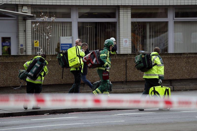 英國倫敦昨22日發生恐攻,外交部據駐英代表處回報指出,目前沒有台灣人在恐攻事件中傷亡。(AP)