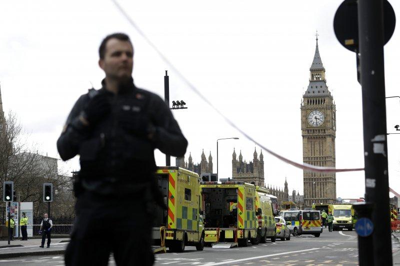 英國國會22日驚傳攻擊事件,造成多人死傷(AP)
