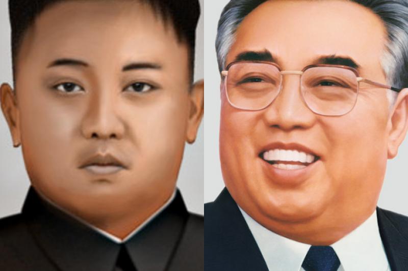 金正恩和金日成這對爺孫倆幹的好事,雙雙為中國帶來了無奈又危機四伏的威脅,但中國不能說。(圖/維基百科|想想論壇提供)