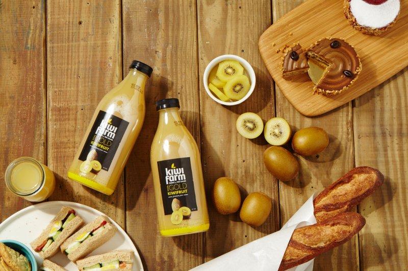 Kiwi Farm 紐西蘭100%新鮮奇異果汁給人體最真實的營養補充。(圖/KiwiFarm提供)