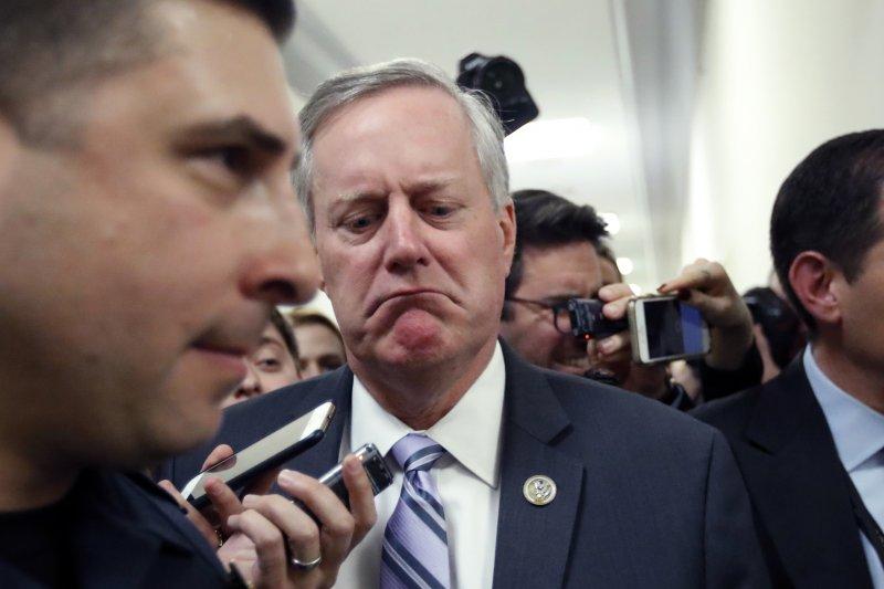 眾議院「自由黨團」主席密道斯對協商結果不滿意(AP)