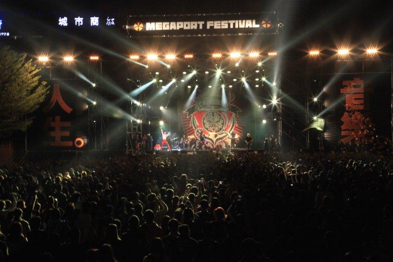 大港開唱是近年來樂迷討論度相當高的台灣音樂祭之一。(資料照,高雄市文化局提供)