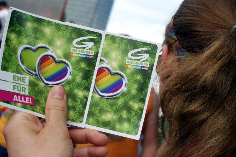 德國婚姻平權的口號:婚姻屬於所有人!(Ehe für alle)(Schulhofpassage@Wikipedia/CC BY 2.0)