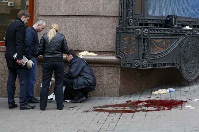 沃諾寧科夫(Denis Voronenkov)在烏克蘭遇刺。(AP)