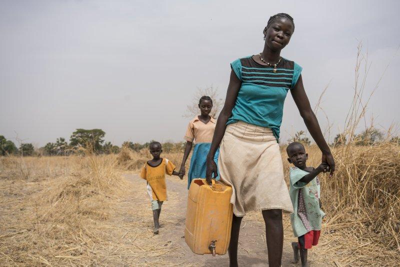 非洲國家南蘇丹自2011年獨立以來,就陷入戰亂、天災、饑荒不斷的絕境(AP)