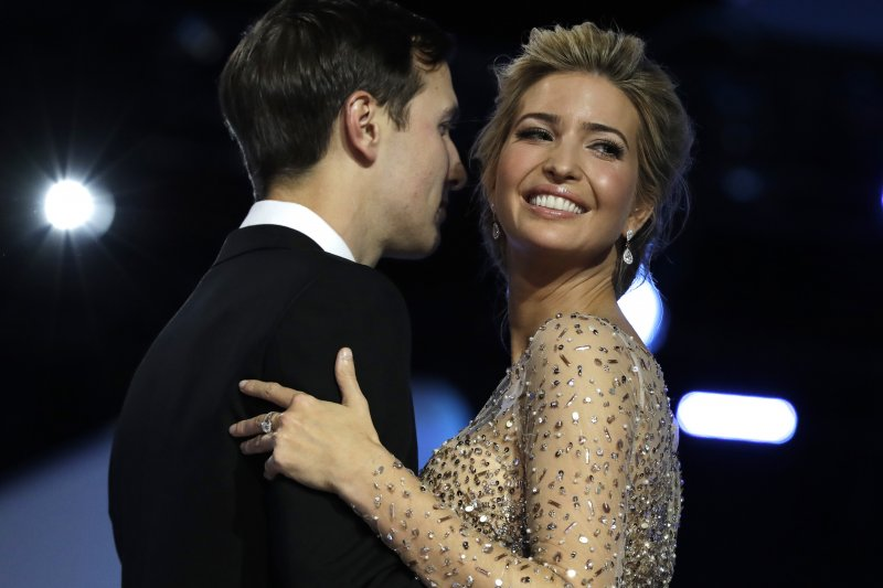 美國總統川普的大女兒伊凡卡.川普(Ivanka Trump)和丈夫庫許納(Jared Kushner)(AP)