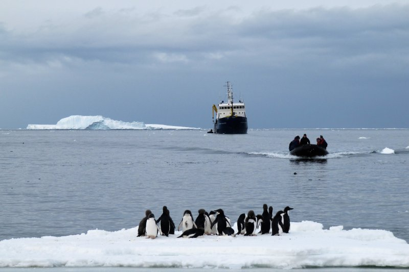 進入神秘的南極,她開始了最難忘的探險之旅。(圖/時報出版提供)