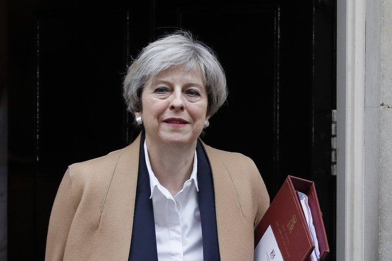 英國首相梅伊3月29日正式啟動《里斯本條約》第50條,開啟脫歐程序(AP)