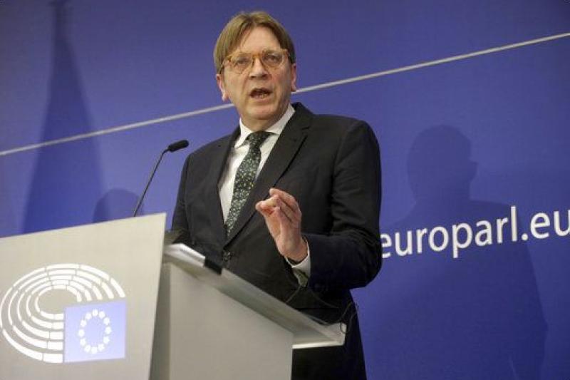 歐洲議會的脫歐談判代表伏思達(AP)