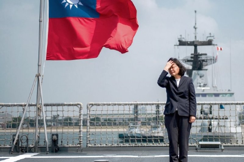 蔡英文總統還記得你要捍衛中華民國的承諾?還記得你下達的第一個命令:謙卑嗎?(取自總統府)