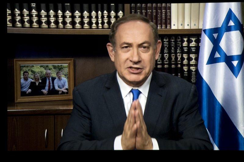 以色列總理納坦雅胡20年來首次宣布,在約旦河西岸興建合法屯墾區。(美聯社)