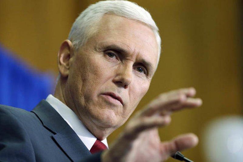 美國副總統彭斯向來強力反墮胎(美聯社)