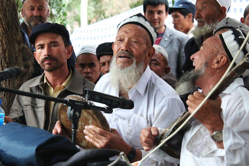 維吾爾族男子蓄長鬍,未來可能被視為極端象徵。(圖/維基百科CCBYSA3.0)