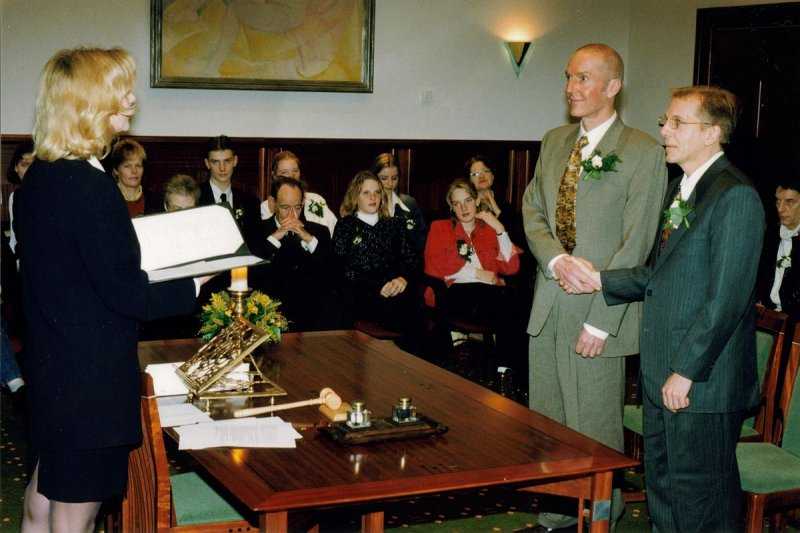 2001年,西歐國家荷蘭承認同性婚姻,成為全球首個同婚合法化的國家(翻攝Wikipedia/CC BY 3.0)