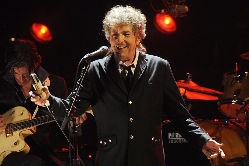 美國詩人兼歌手巴布狄倫(Bob Dylan)(AP)
