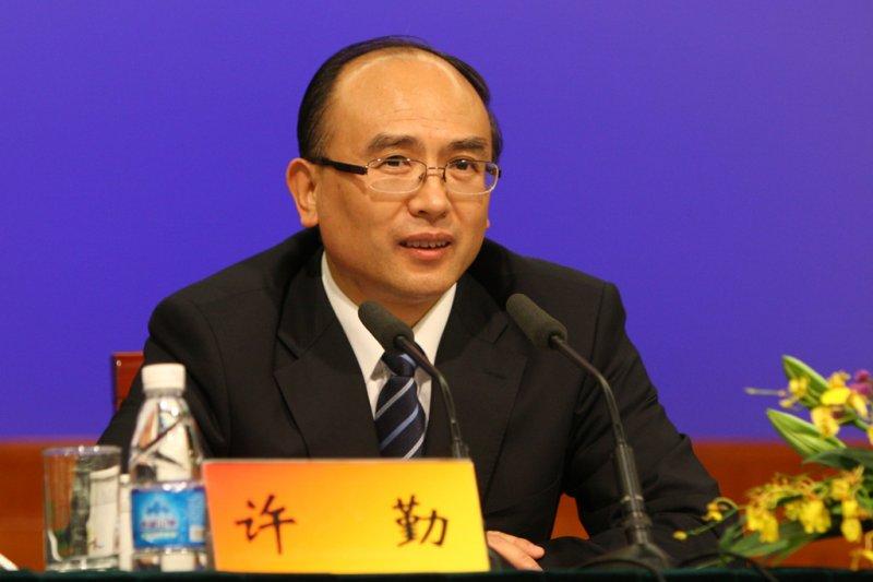 河北省委委員、常委、副書記許勤(網路截圖)
