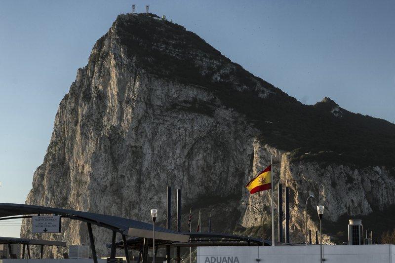伊比利半島最南端的狹長地區直布羅陀由英國治理,但西班牙宣稱擁有主權(AP)