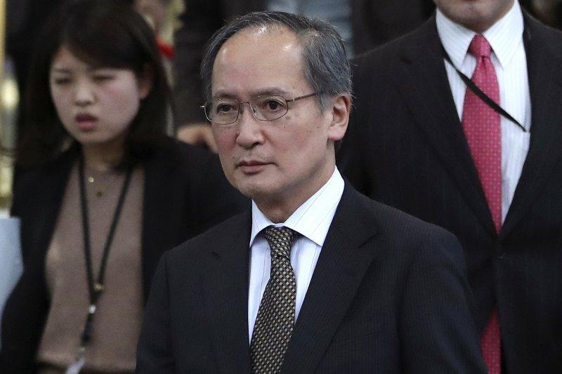 駐南韓日本大使長嶺安政4日返回南韓(AP)