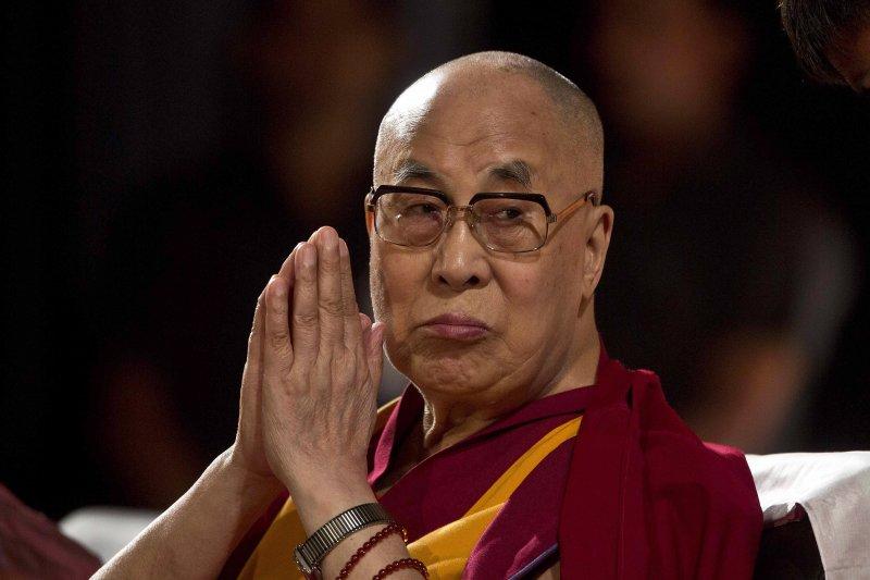 西藏精神領袖達賴喇嘛(AP)