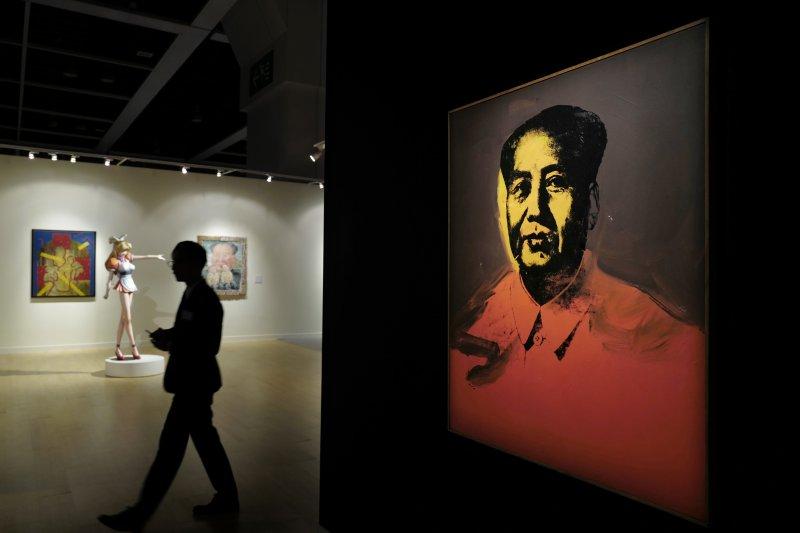 前中國領導人毛澤東。(資料照,美聯社)