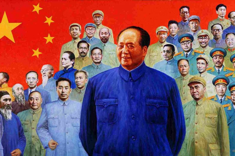 毛澤東。(取自網路)