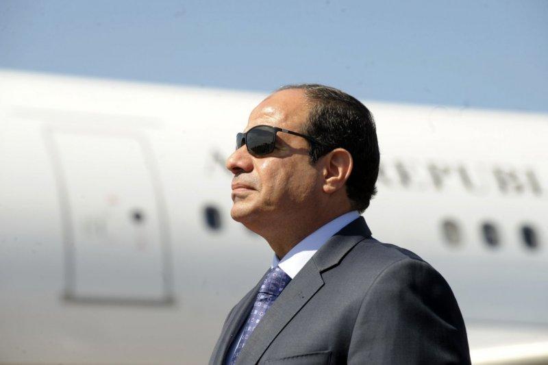 埃及總統塞西,是2009年以來第一位訪美的埃及總統。(美聯社)