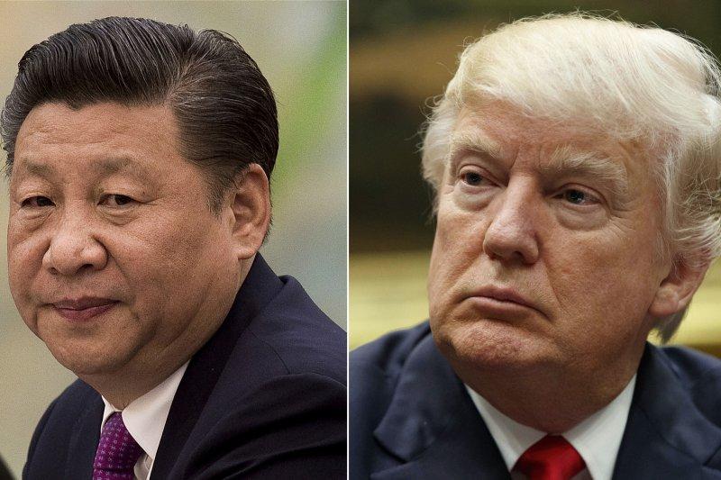 美國總統川普與中國國家主席習近平(AP合成)
