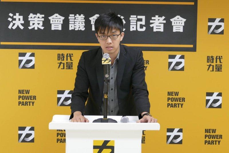 柯文哲前選舉幕僚「小彭」彭盛韶,將接下時代力量智庫副執行長的工作。(時代力量提供)