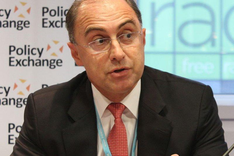 倫敦證券交易所集團執行長羅雷特(Policy Exchange@Wikipedia/CC BY 2.0)