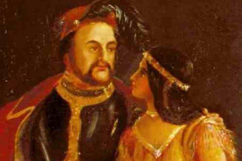 北美原住民族公主寶嘉康蒂最後嫁給英國菸草商約翰.羅爾夫(翻攝維基百科)