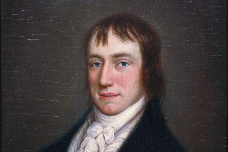 1798年的英國詩人華茲華斯(William Wordsworth)(Wikipedia/Public Domain)