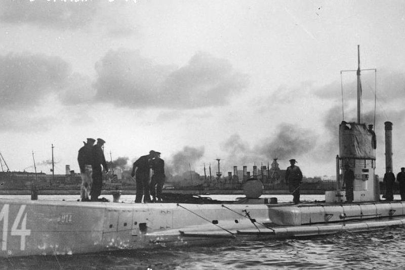 德國德國U20潛艇。(wikipedia/public domain)