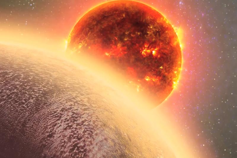 科學家發現一顆大小、質量都與地球相近的太陽系外行星「GJ 1132 b」上面有大氣層,有可能孕育生命(YouTube)
