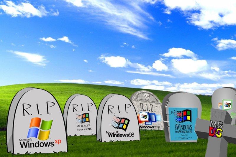 歷代Windows作業系統(取自網路)