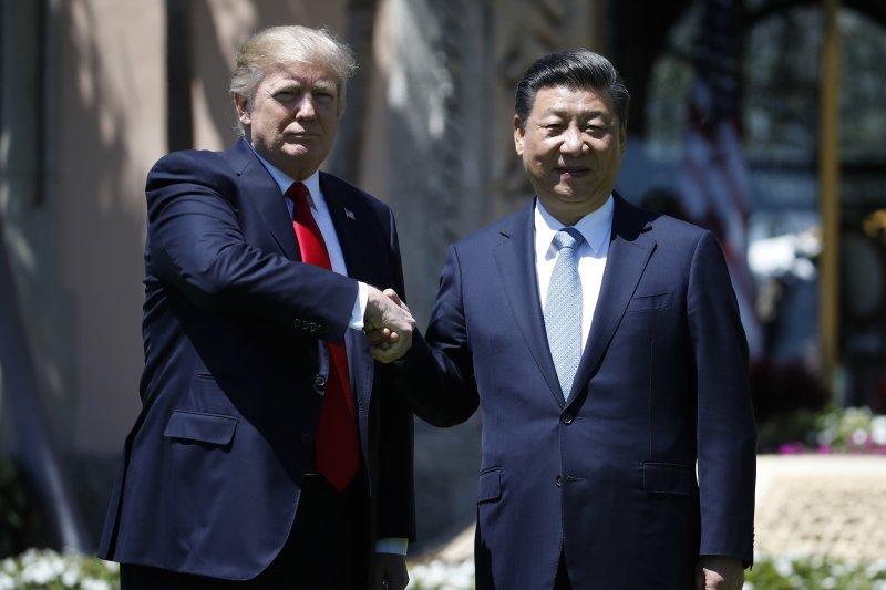 美國總統川普、中國領導人習近平見面的「川習會」落幕,雙方並未討論到台灣議題。(資料照,美聯社)