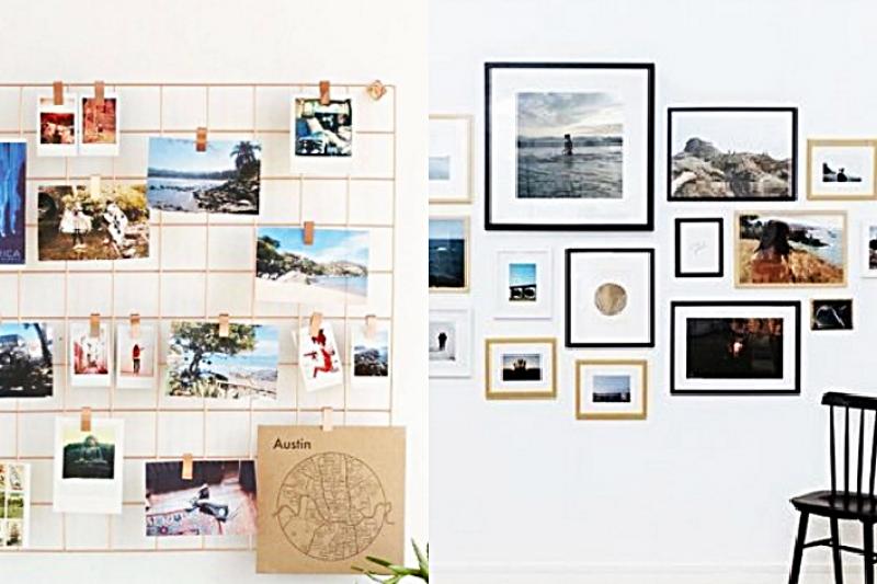 妥善設計居家「相片牆」,把美好回憶全都留下來!(圖/點一點設計提供,風傳媒後製)