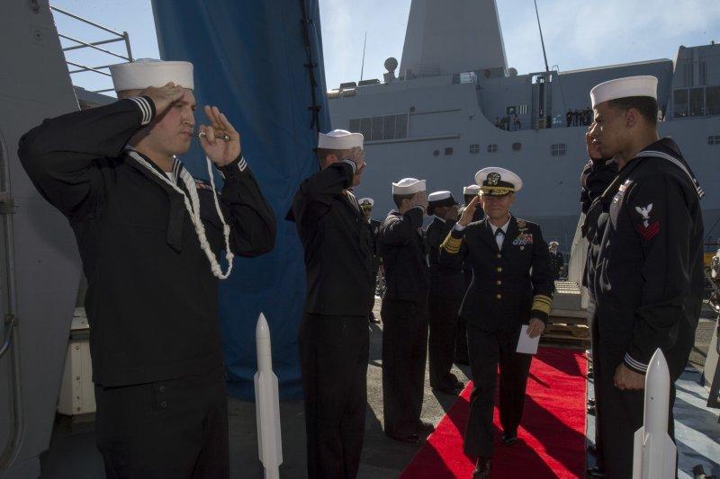 美軍第三艦隊指揮官諾拉・泰森中將。(美國海軍官網)