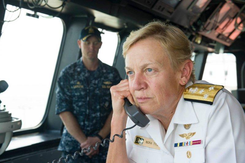 美國海軍第三艦隊指揮官、海軍三星中將泰森(Nora Tyson)(第三艦隊臉書)
