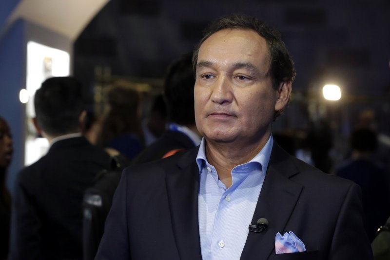 美國聯合航空CEO穆諾斯(Oscar Munoz)(美聯社)