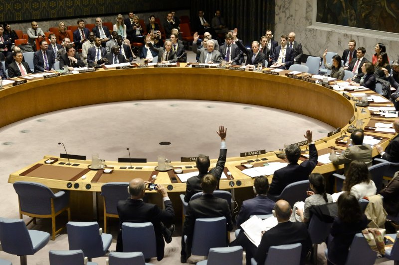聯合國安全理事會本周五(30)日將27艘貨船、21家公司及一名台灣商人列入黑名單。(資料照,美聯社)